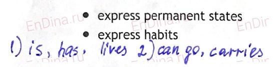 Spotlight 5. Workbook - Module 5. 5d Writing (a paragraph), ответ 2