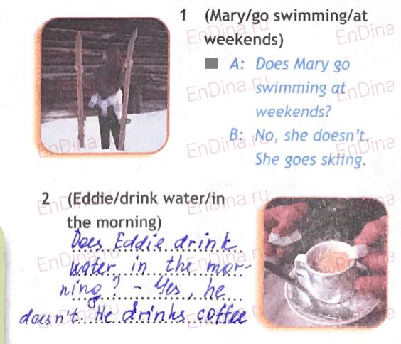 Spotlight 5. Workbook - Module 5. 5 Grammar Practice, ответ 5