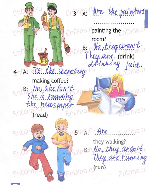 Spotlight 5. Workbook - Module 6. 6 Grammar Practice, ответ 7