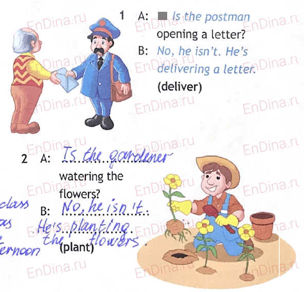 Spotlight 5. Workbook - Module 6. 6 Grammar Practice, ответ 6
