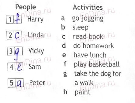 Spotlight 5. Workbook - Module 6. 6b At work, ответ 4