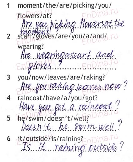 Spotlight 5. Workbook - Module 7. 7b Dress right!, ответ 4