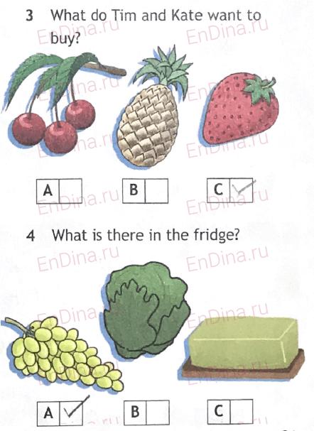 Spotlight 5. Workbook - Module 8. 8с It's my birthday!, ответ 4