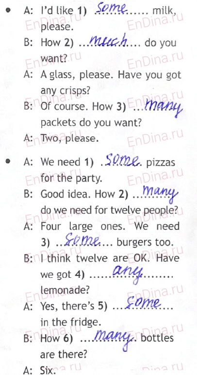 Spotlight 5. Workbook - Module 8. 8b Master chef, ответ 5