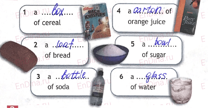 Spotlight 5. Workbook - Module 8. 8b Master chef, ответ 1