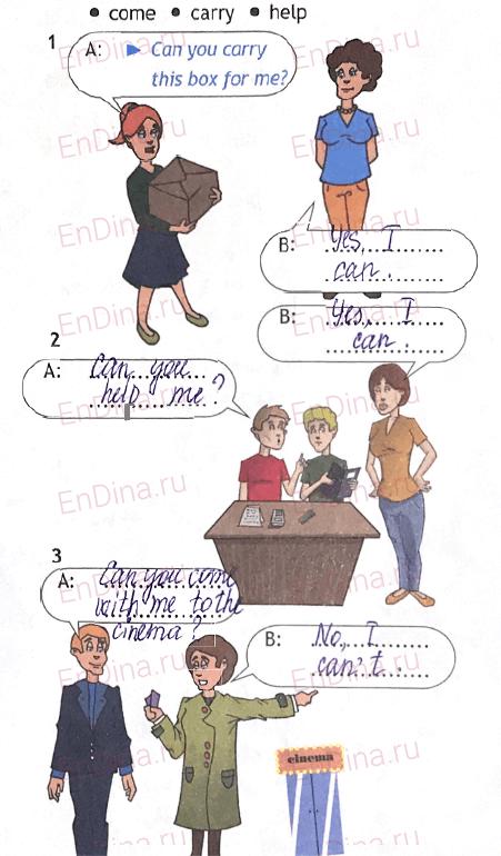 Spotlight 5. Workbook - Module 10. 10 Grammar Practice, ответ 4