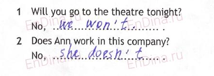 Spotlight 5. Workbook - Revision Section. Tense Revision, ответ 2