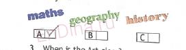 Spotlight 5. Workbook - Module 1. 1a School, ответ 5