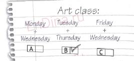 Spotlight 5. Workbook - Module 1. 1a School, ответ 6