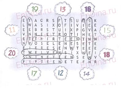 Spotlight 5. Workbook - Module 1. 1b Firstday, ответ 1