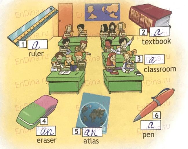 Spotlight 5. Workbook - Module 1. 1 Grammar Practice, ответ 1