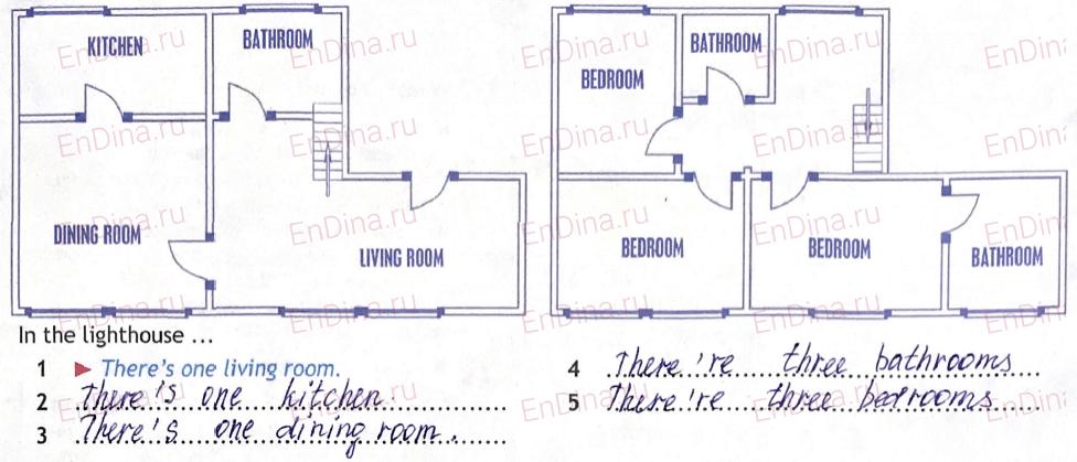 Spotlight 5. Workbook - Module 3. 3 Grammar Practice, ответ 1