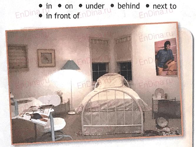 Spotlight 5. Workbook - Module 3. 3c My bedroom, ответ 1