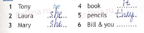 Spotlight 6. Workbook - Module 1. 1 Grammar Practice, ответ 1