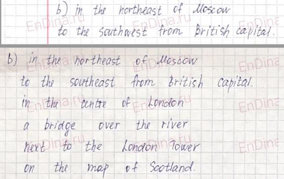 Spotlight 6. Workbook - Module 1. 1 Grammar Practice, ответ 16